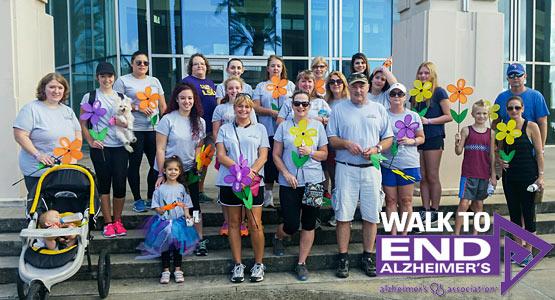 Team Tremron Joins Alzheimer's Association Walk to End Alzheimer's