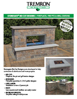 Stonegate No-Cut Designs | Fireplaces, Fire Pits & Grill Stations