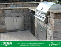 Stonegate | Outdoor Kitchen - L-Shaped Design