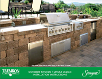 Stonegate | Outdoor Kitchen - Linear Design