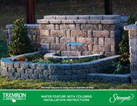 Stonegate | Water Feature with Columns