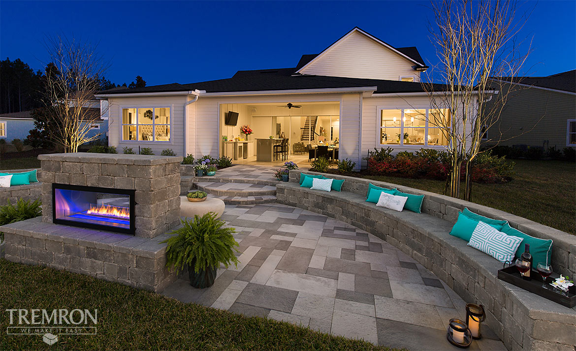 Featured Project Cloisters Pavers Stonegate Seating Wall