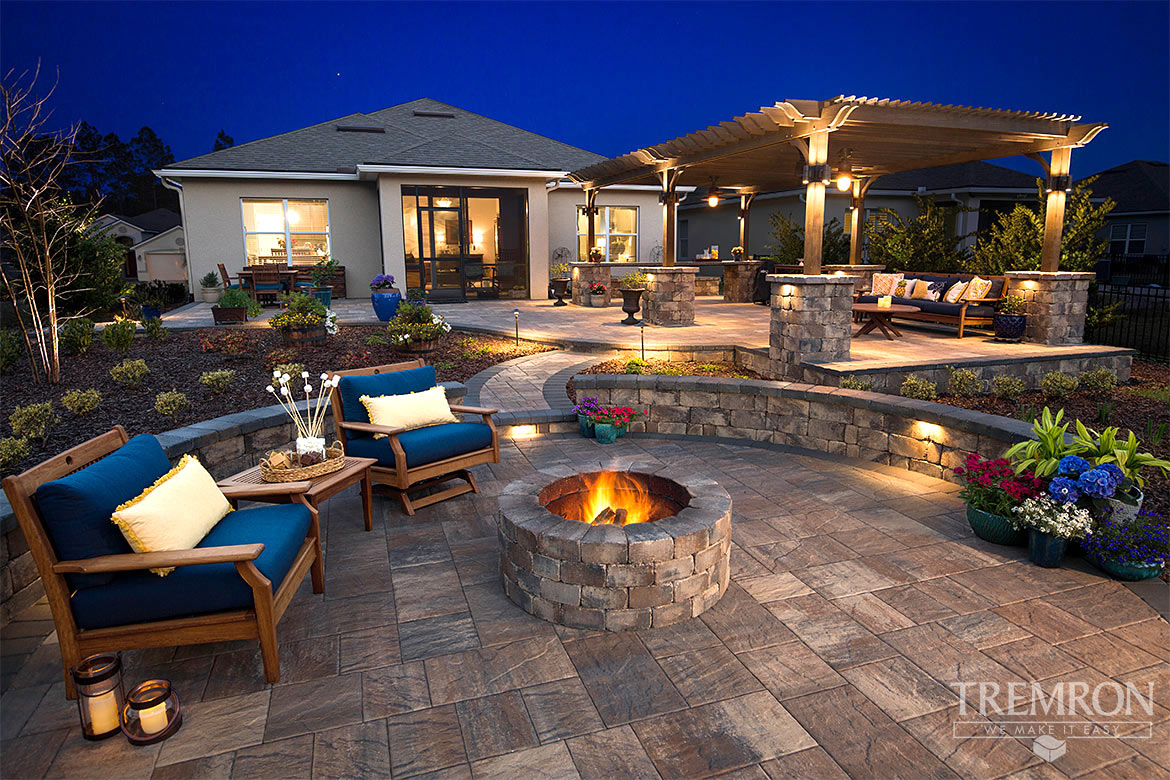 Featured Project Templehurst Pavers Munich Fire Pit