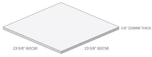 Porcelain Paver Dimensions