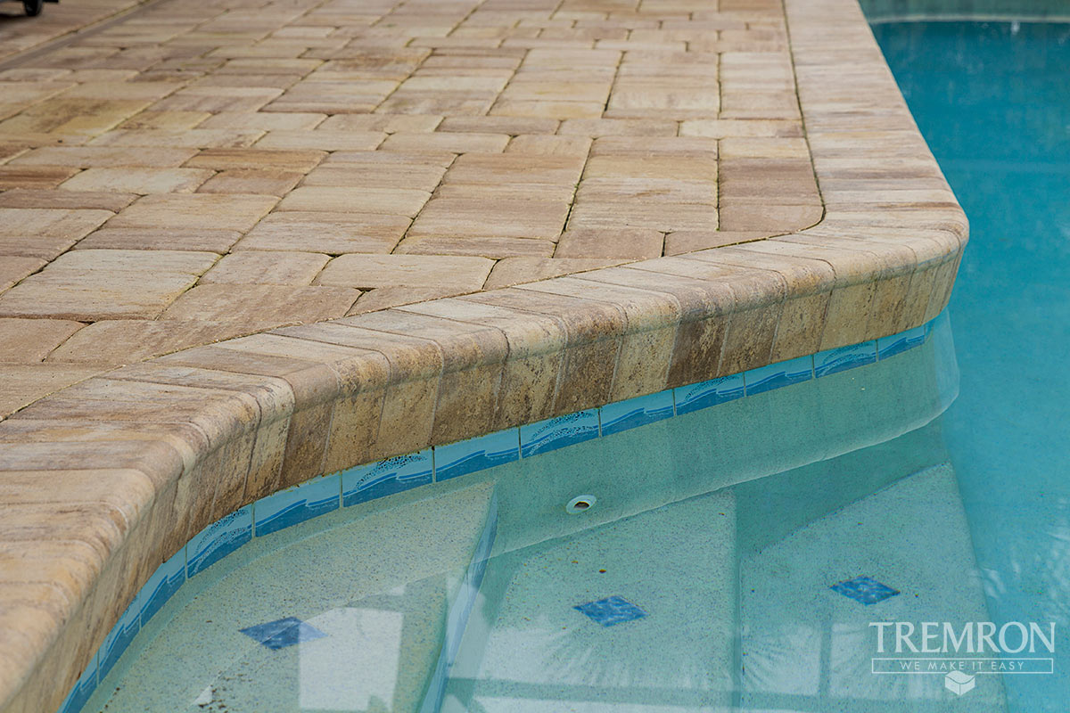 Bullnose Coping Tremron Jacksonville Pavers Retaining Walls Fire - Clay coping tiles prices
