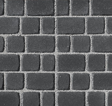 Olde Towne Permeable Pavers Charcoal