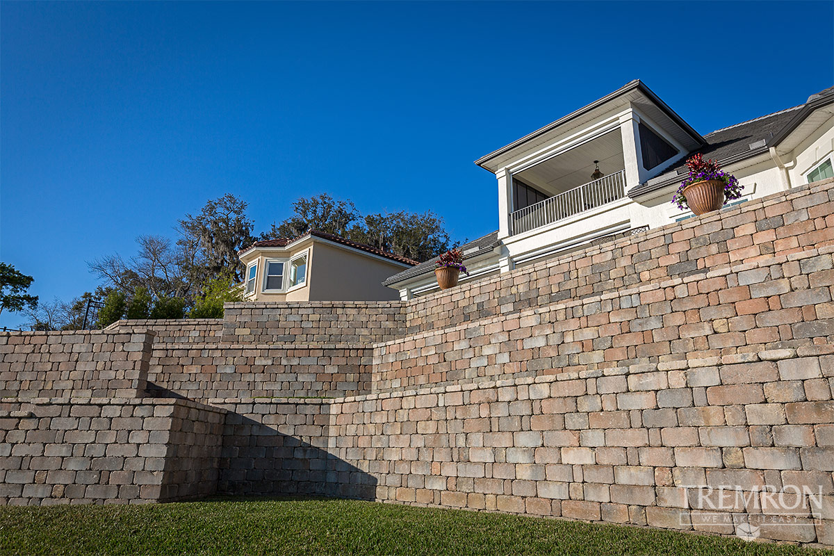 Stonegate Retaining Wall Blocks Tremron Jacksonville