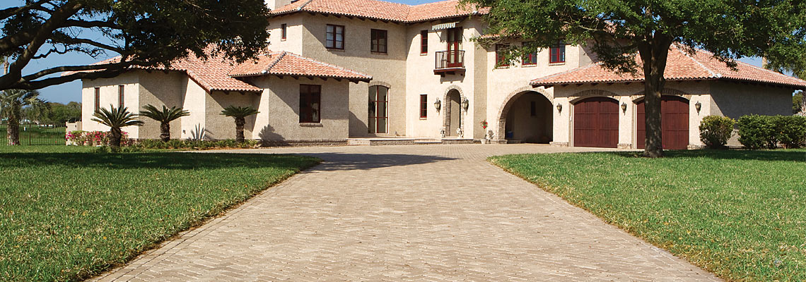 4x8 Brick Pavers Antiqued