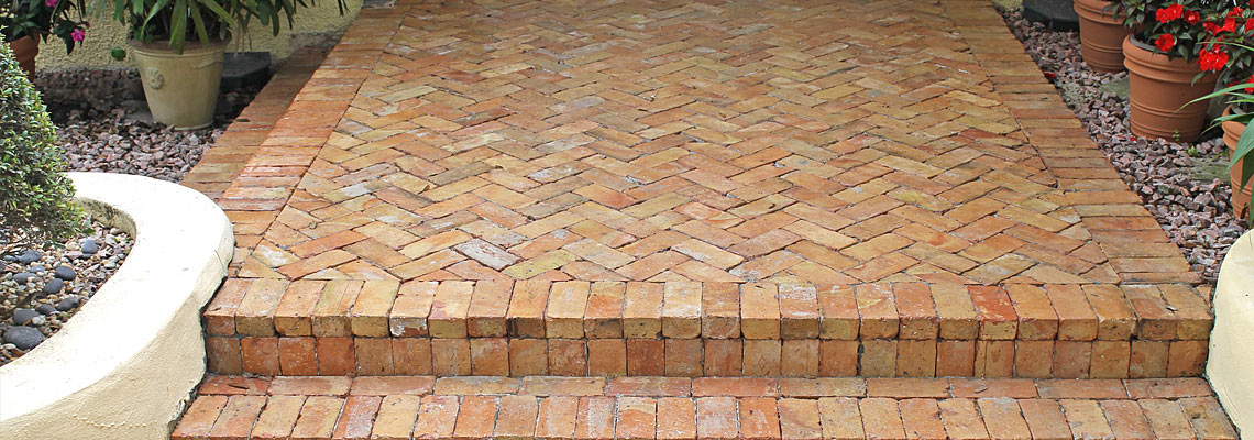 Old Chicago Reclaimed Clay Pavers