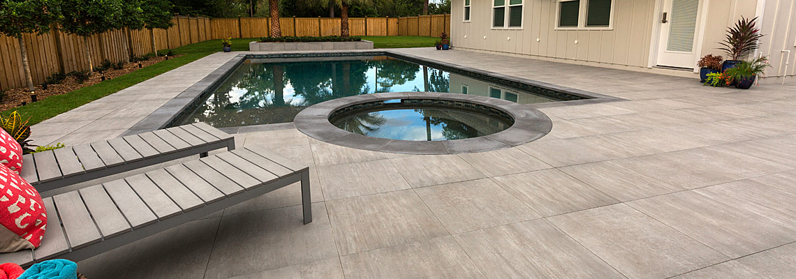 Porcelain Pavers Tremron Jacksonville Pavers Retaining Walls Fire