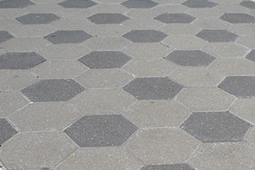 Hexagon Pavers