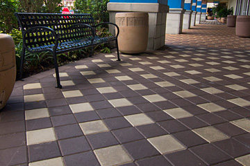 Park Plaza Pavers